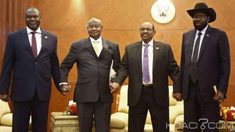Soudan du Sud-Soudan: A Khartoum, Salva Kiir et son rival Riek Machar enfin «prêts» pour la paix