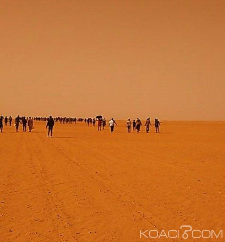 Algérie: 13 000 migrants subsahariens abandonnés  dans le désert , selon une agence américaine