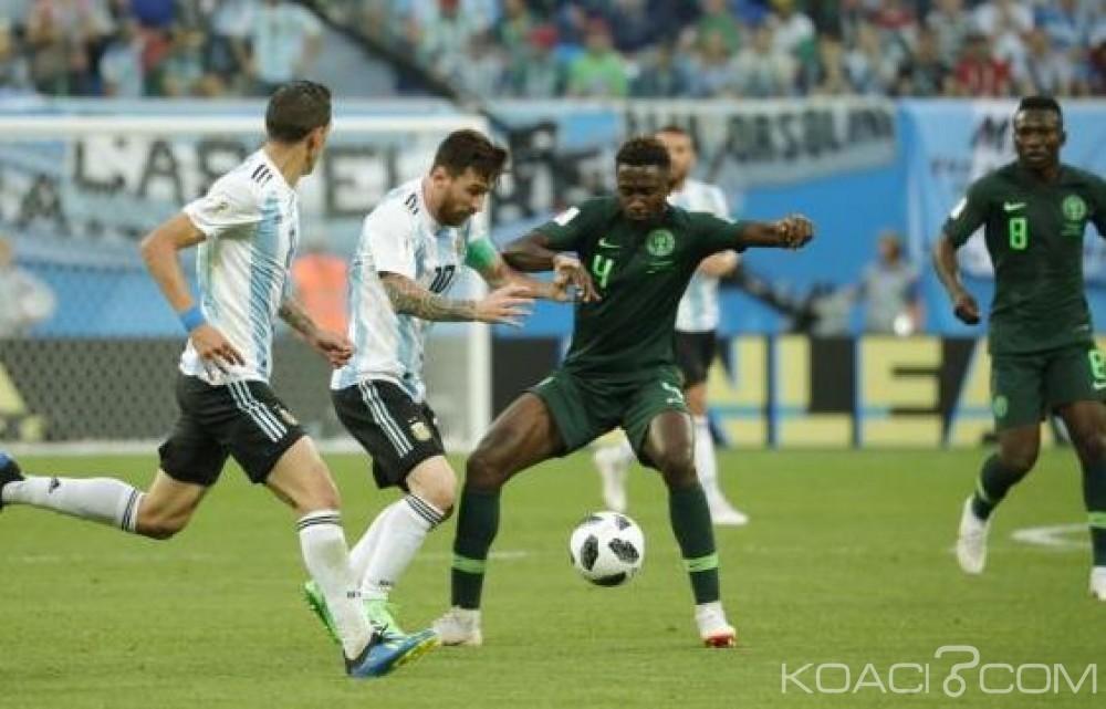 Nigeria: Victoire 2 à 1, l'Argentine élimine les super eagles du Mondial 2018