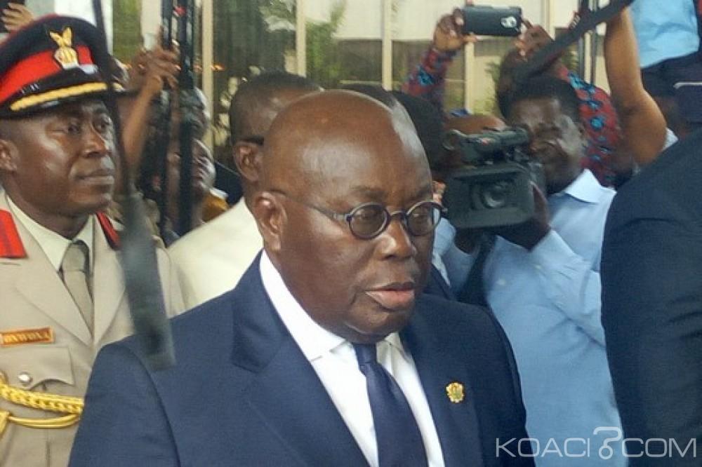 Ghana-Togo: Akufo-Addo parti à Lomé pour une issue à la crise politique