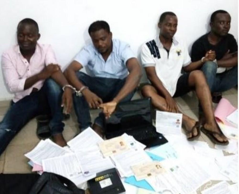 Côte d'Ivoire: Trois autres individus interpellés dans le cadre de l'enquête sur les fausses pièces d'identité