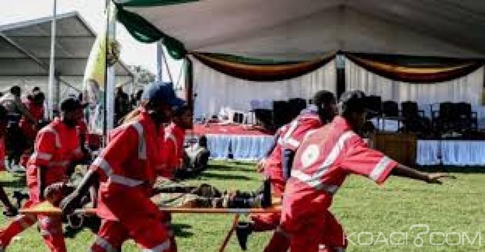 Zimbabwe:  Les deux-vice présidents évacués en Afrique du  Sud  après l'attentat à la «grenade»
