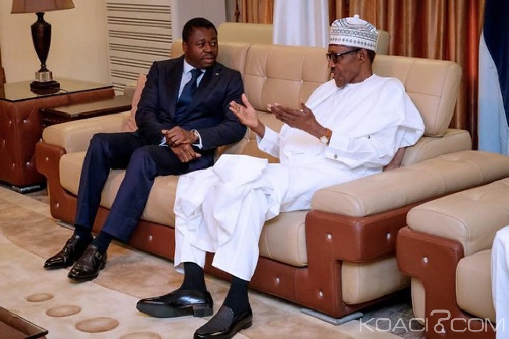 Togo-Nigeria: Entretien Gnassingbé-Buhari, sommet conjoint CEDEAO-CEEAC et situation au Togo évoqués