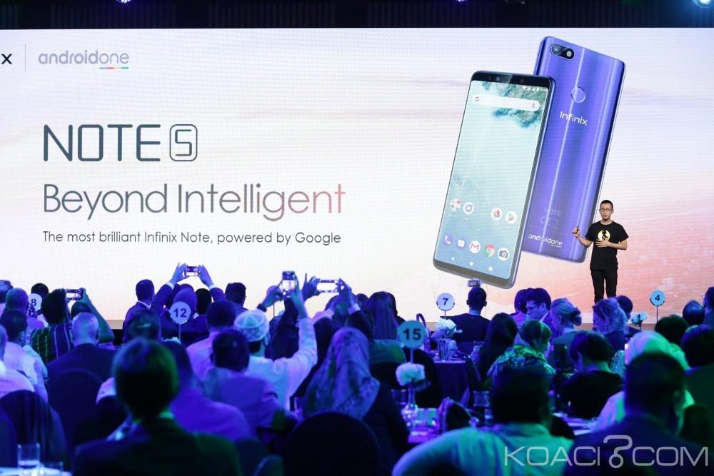 Côte d'Ivoire: Infinix lance le Note 5 propulsé par Android One