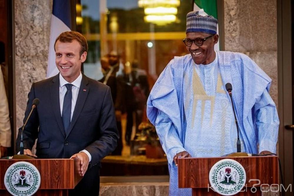 Nigeria-France:  Entretien Buhari-Macron, lutte contre le terrorisme et projet de Paris pour l'essor de la jeunesse