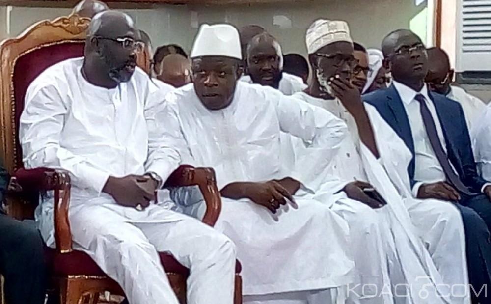 Côte d'Ivoire: George Weah en parrain à l'inauguration de la grande mosquée rénovée de Tiébissou