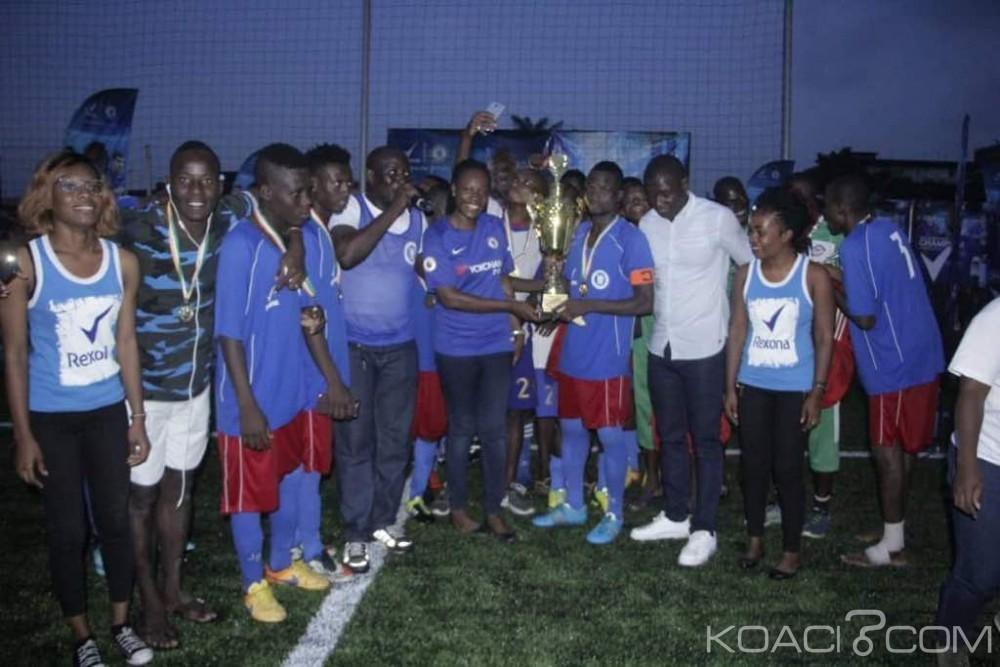 Côte d'Ivoire: Le club WAC de Williamsville, heureux gagnant du Rexona football Tour 2018