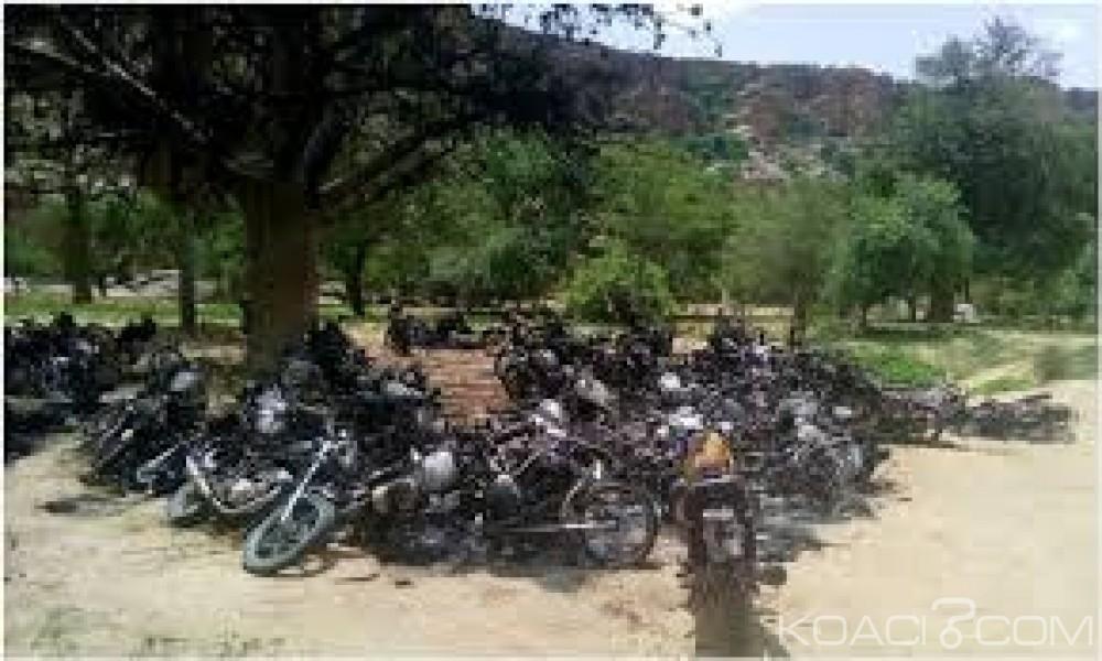 Mali:  300 motos d'un groupe armé Dogon incendiées par l'armée dans le centre