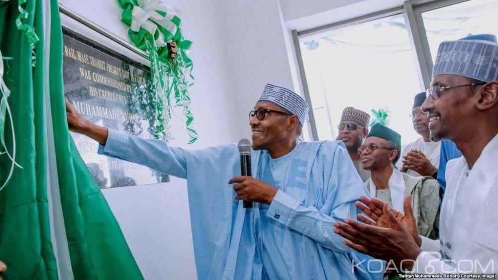 Nigeria:  Buhari inaugure le premier réseau de train léger à Abuja