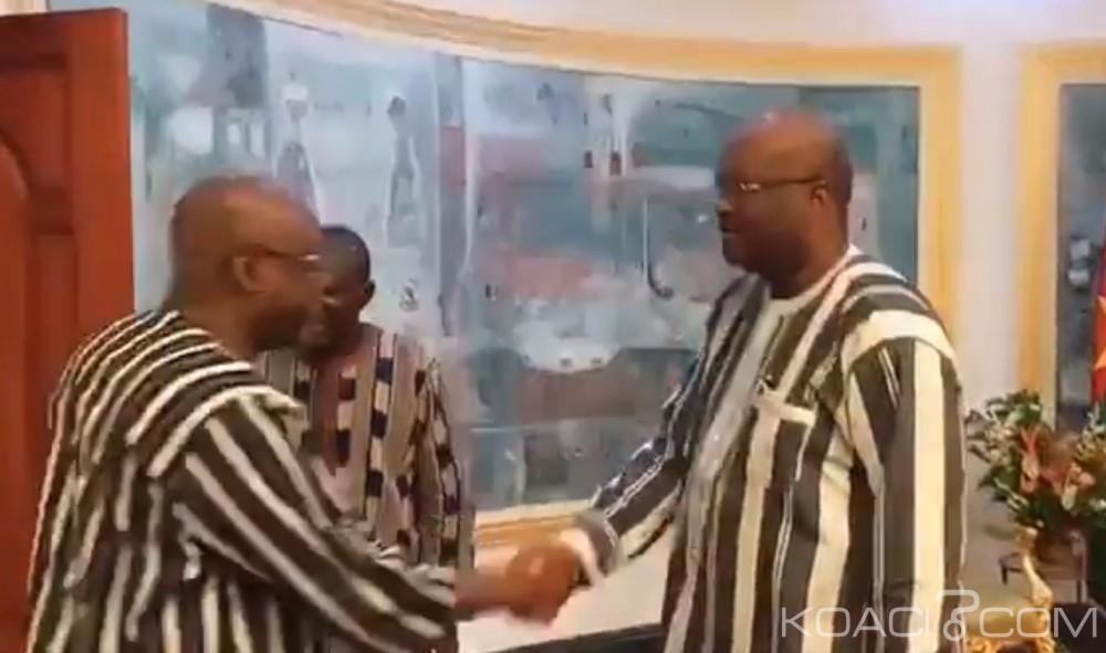Burkina Faso: Le Secrétaire exécutif du CILSS chez le Président Kaboré