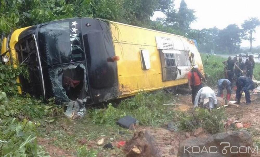 Côte d'Ivoire: Sortie de route mortelle sur l'autoroute du nord, 5 morts