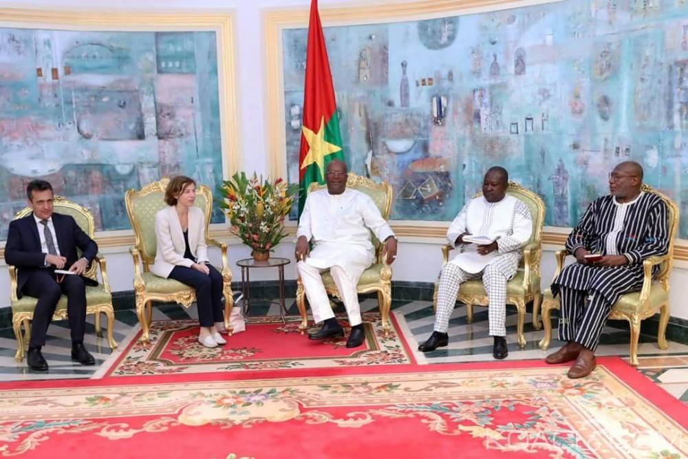 Burkina Faso: Lutte contre le terrorisme, la ministre française des Armées échange avec  le président Kaboré