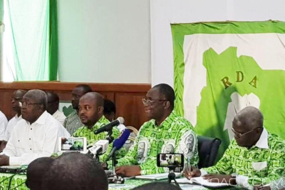 Côte d'Ivoire: Plusieurs cadres partisans du Parti-unifié RHDP dont Adjoumani Kobenan exclus du PDCI