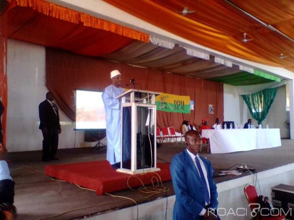 Mali-Côte d'Ivoire: En campagne pour la présidentielle à Bouaké, IBK s'adresse à sa communauté du Gbêkê