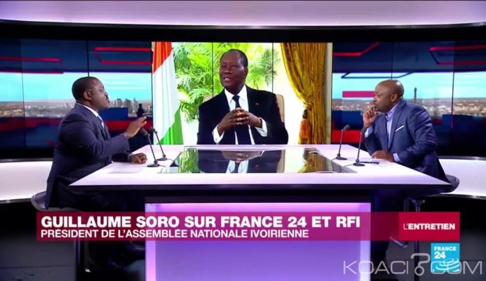 Côte d'Ivoire: Rfi et France 24 accordent plus de temps à Soro qu'à Ouattara, l'entourage du président se fà¢che et le fait savoir