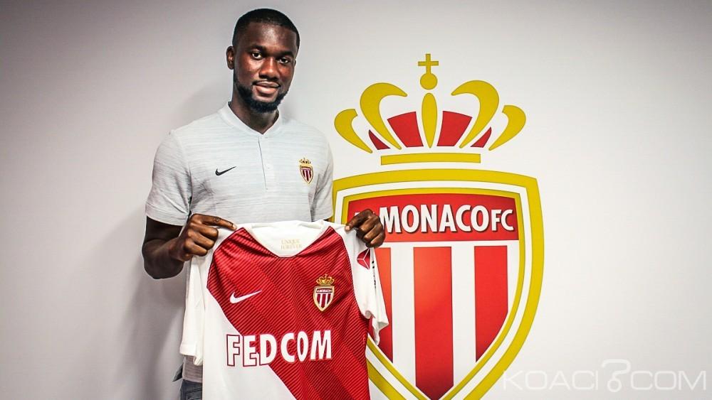 Côte d'Ivoire: L'international ivoirien Jean-Eudes Aholou quitte Strasbourg et s'engage pour 5 saisons avec  l'AS Monaco