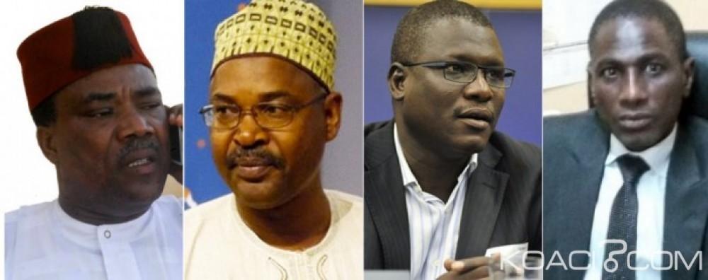 Niger:  Trois mois de prison avec sursis contre quatre figures de la société civile