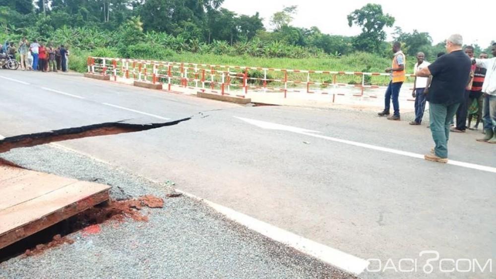 Côte d'Ivoire: Frayeur du pont sur l'axe Akoupé-Abongoua, «des sanctions seront prises si la qualité des travaux est en cause» prévient le ministère de l'équipement