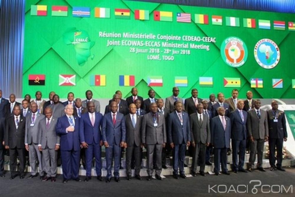 CEDEAO-CEEAC: Réunion ministérielle, points à Lomé sur les questions sécuritaires