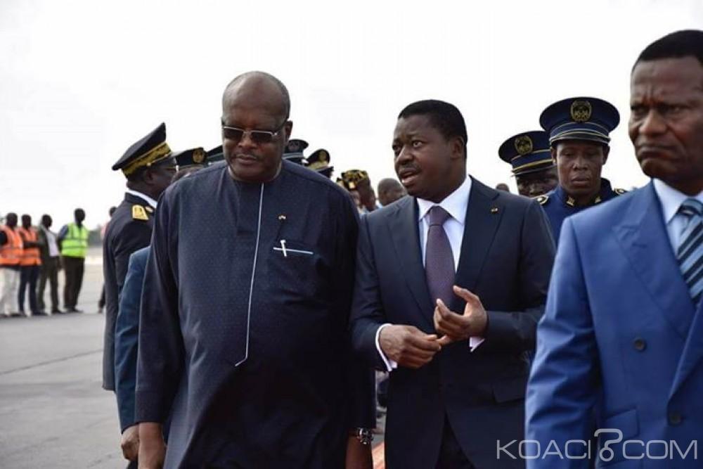Burkina Faso: Le président Kaboré à Lomé pour le sommet conjoint CEDEAO-CEEAC