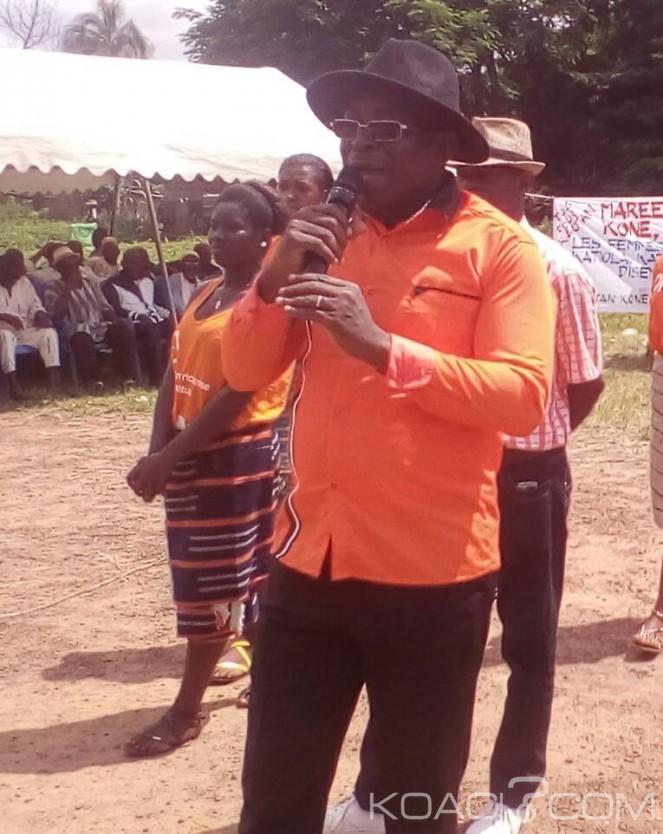 Côte d'Ivoire: Municpales 2018,  débarqué  de la SIR Les populations de Katiola  choisissent KAOTAN Koné  pour lui donner du travail