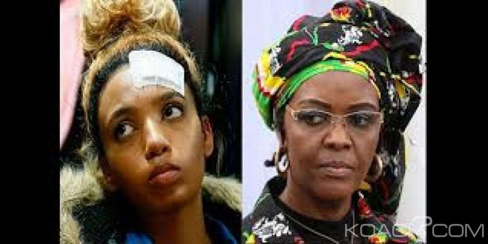 Afrique du Sud: Accusée d'agression, la justice retire à Grace Mugabe son immunité diplomatique