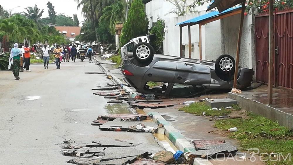 Côte d'Ivoire: L'union Européenne au secours des victimes des inondations de juin dernier, avec une aide de 55 millions FCFA