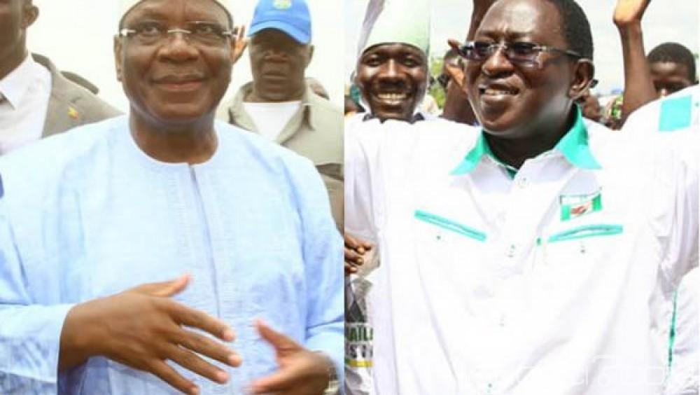 Mali: IBK et Soumaïla Cissé s'affronteront au second tour de la présidentielle
