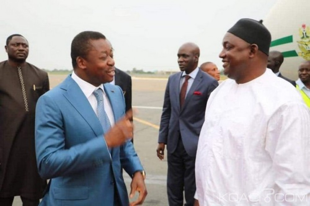 Gambie: Requête de Barrow pour la CEDEAO contre le terrorisme et remerciements au Nigeria