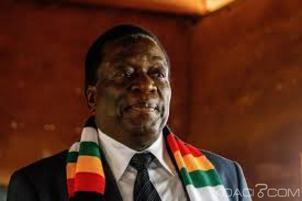 Zimbabwe: Présidentielle, Emmersonn Mnangagwa en tête selon les résultats de la ZEC