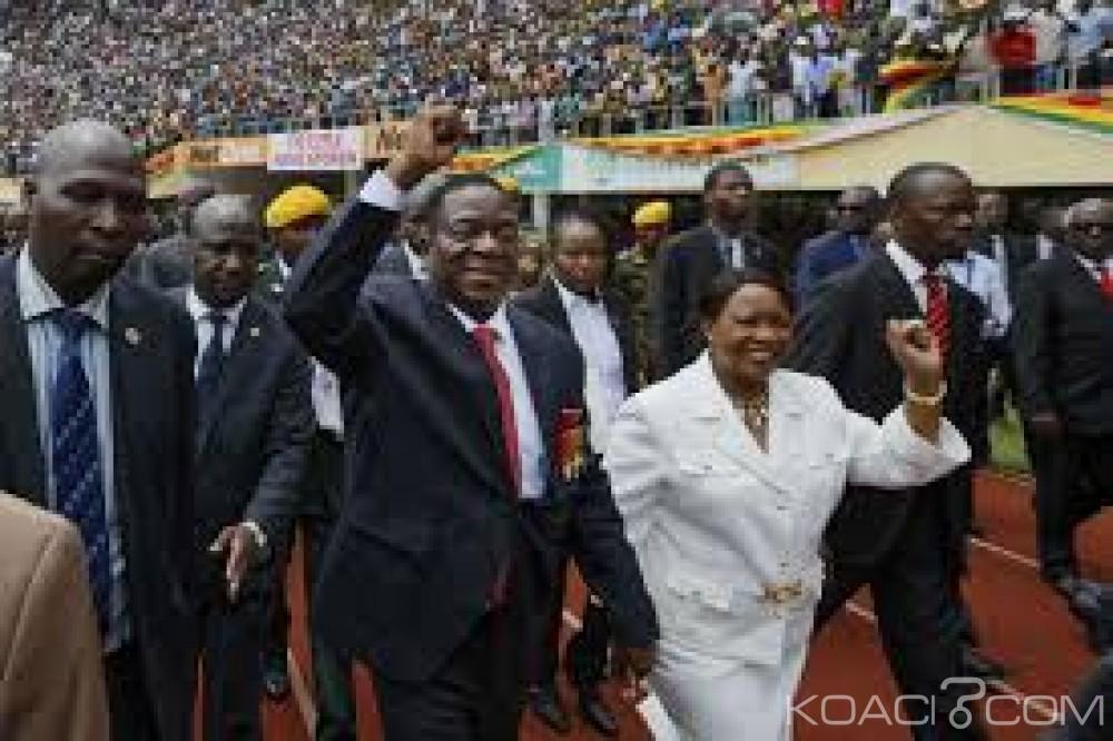 Zimbabwe: Présidentielle,Mnangagwa donné vainqueur avec 50,8% des voix, l'opposition rejette les résultats