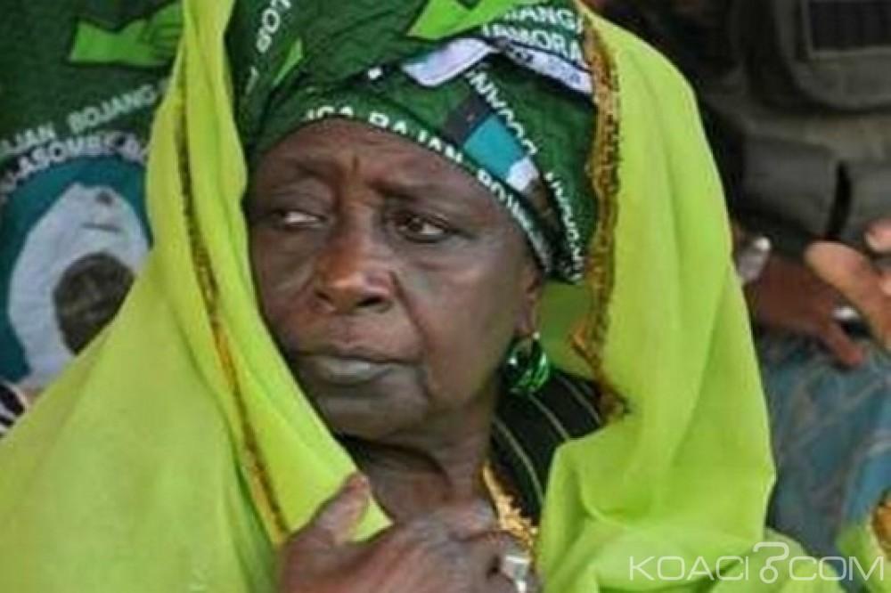 Gambie: Jammeh n'escortera pas sa défunte mère au pays pour  inhumation