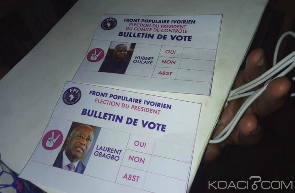 Côte d'Ivoire: 4è congrès du FPI «Gbagbo ou rien» à Moossou, Gbagbo et Oulaye seuls candidats pour la présidence et le comité de contrôle