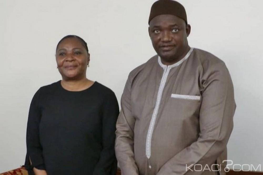 Gambie-Guinée Equatoriale: Malabo envoie Amalia Obiang faire des adieux à la mère de Jammeh