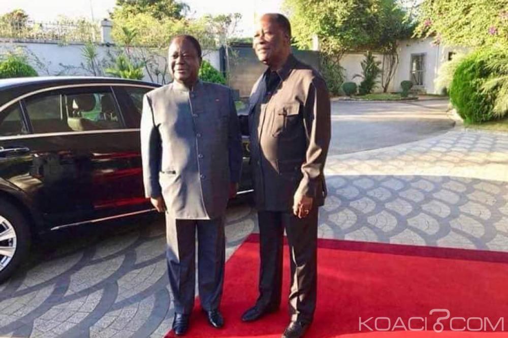 Côte d'Ivoire: Après sa rencontre avec Ouattara, Bedié annonce que «le PDCI se retire du processus de mise en place d'un Parti unifié dénommé RHDP»