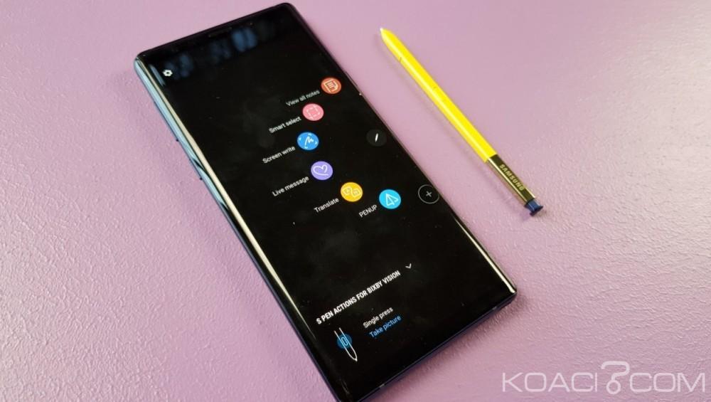 Monde:  fini les batteries explosives chez Samsung, bienvenue au Galaxy Note 9 doté d'une batterie de 4000 mAh