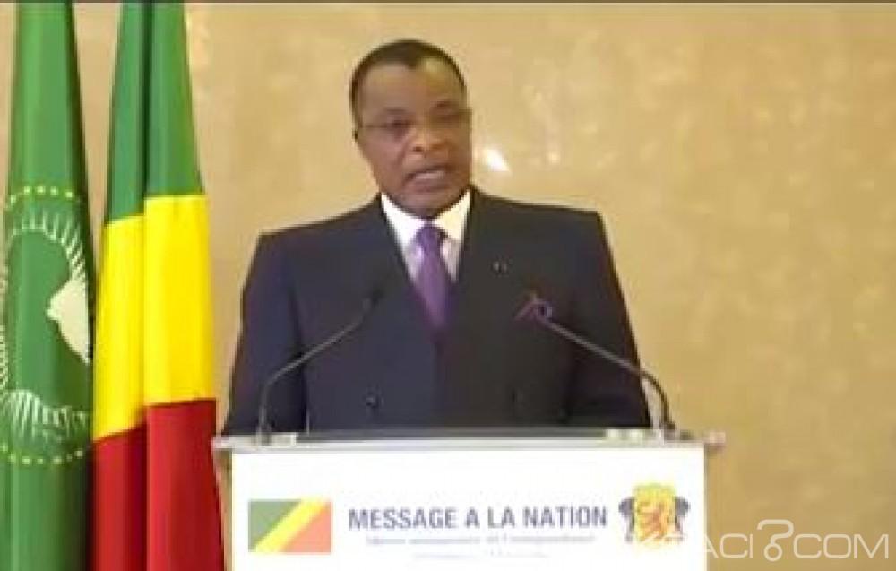 Congo: 58ème  anniversaire, pour Sassou NGuesso, son pays est loin de la «banqueroute»