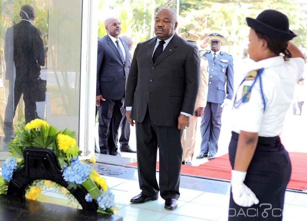 Gabon: 58ème anniversaire, Ali Bongo satisfait de la courbe ascendante de l'emploi