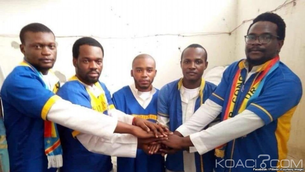 RDC: 3 ans de travaux forcés  requis contre cinq militants Filimbi  accusés d'offense à Kabila