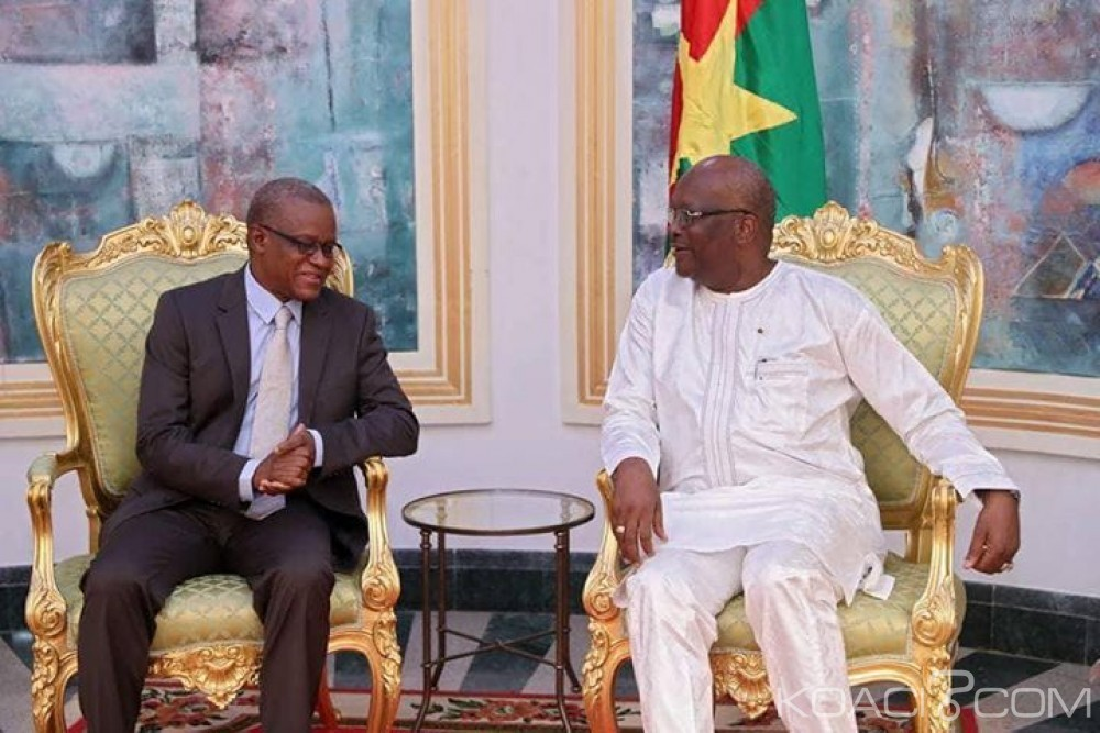Burkina Faso: Le secrétaire permanent du  G5 Sahel reçu par le président Kaboré