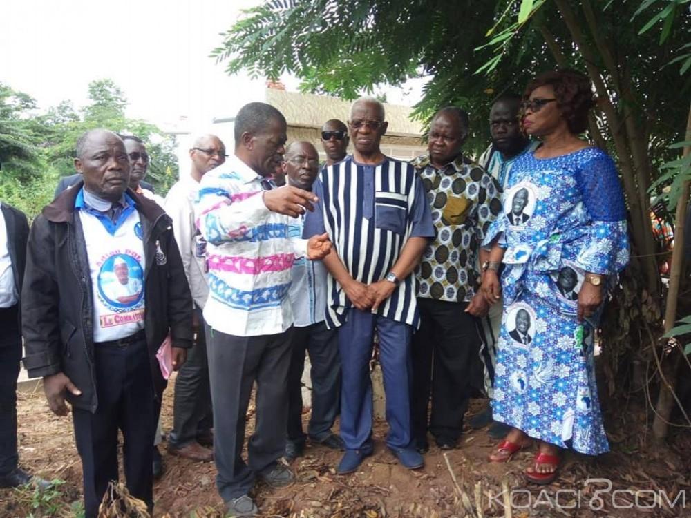 Côte d'Ivoire: A l'ouest pour l'inhumation de Dokoui, Sangaré visite les fosses communes de Guitrozon