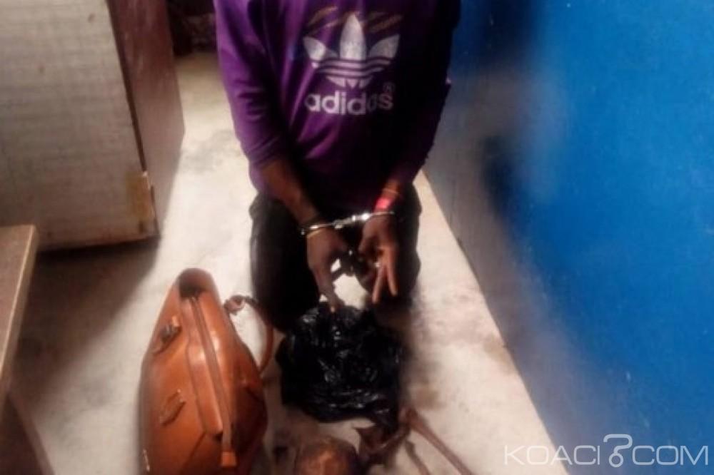 Ghana: Un voleur de parties humaines arrêté