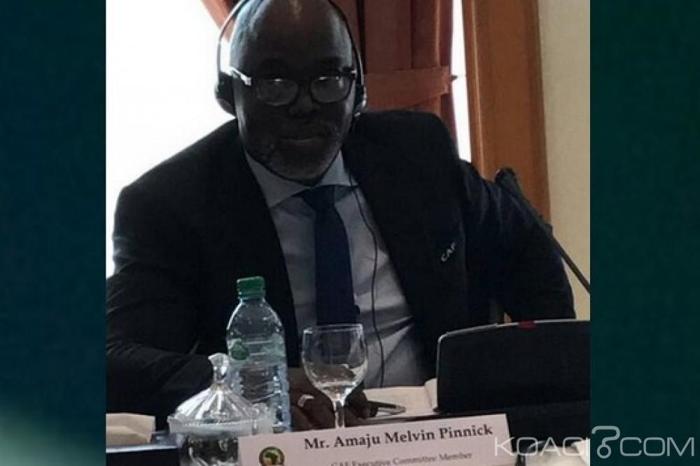 Nigeria: Le gouvernement reconnait Pinnick comme le président de la NFF et rassure la FIFA
