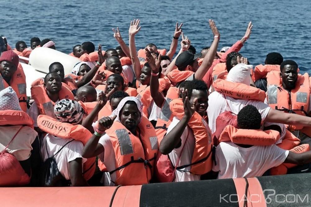 Tunisie: Des migrants dont 8 ivoiriens arrêtés en mer, huit corps repêchés