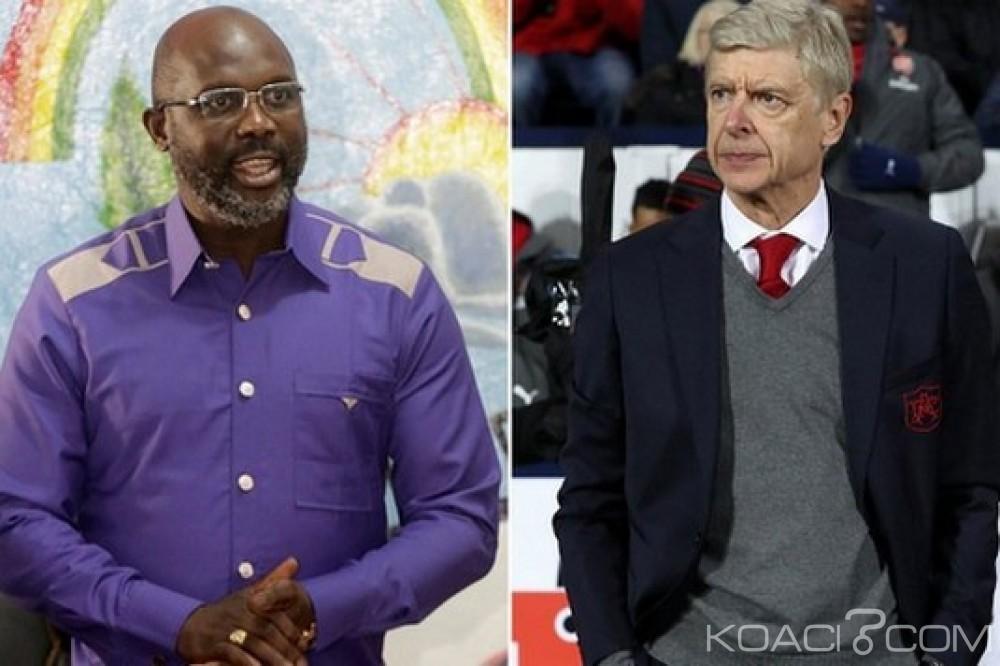 Libéria: Weah va décorer les entraîneurs Arsène Wenger et Claude Le Roy