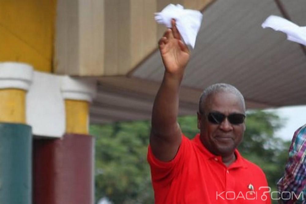 Ghana: Présidentielle 2020, John Mahama annonce sa candidature dans le NDC, ses raisons