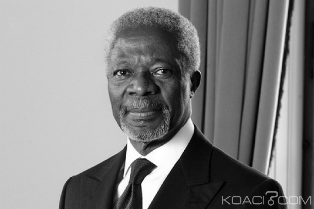 Ghana: Le corps de Kofi Annan sera rapatrié au Ghana pour inhumation