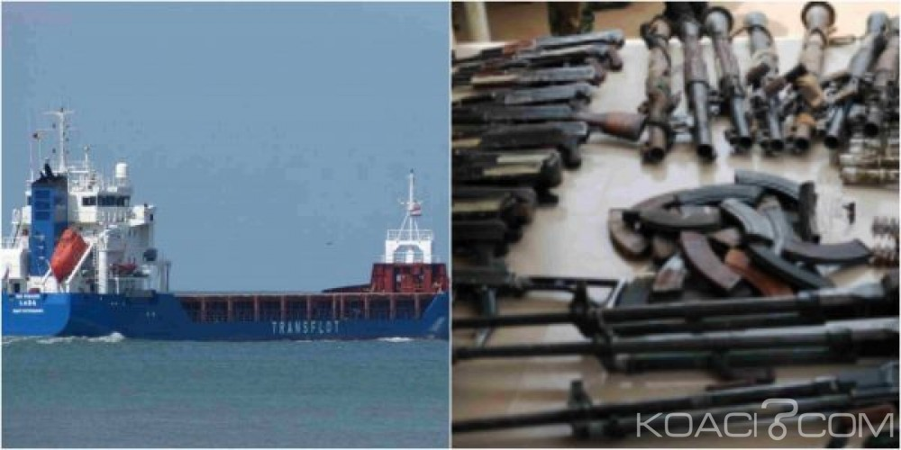 Afrique du Sud:  Un cargo russe rempli d'armes et d'explosifs en direction de Lagos intercepté
