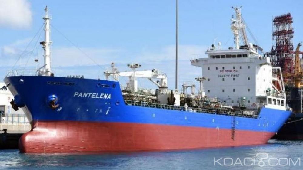 Gabon:  Le tanker disparu avec 17 marins géorgiens retrouvé au large du Congo