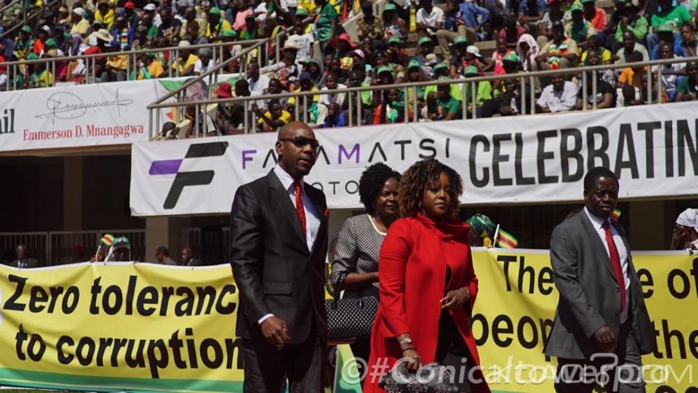 Zimbabwe: Investiture de Mnangagwa, Mugabe «malade» se fait représenter par sa fille